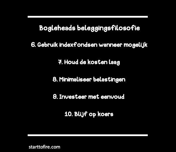Bogleheads beleggingsfilosofie